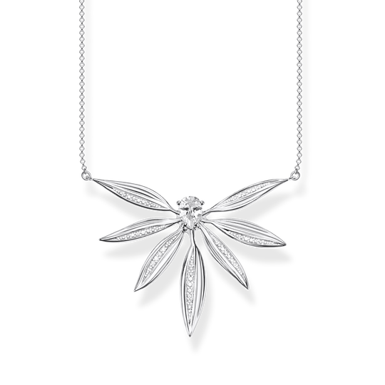 necklace leaves large silver from the Glam & Soul collection in the THOMAS SABO online store