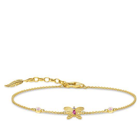 Armband Schmetterling gold aus der Glam & Soul Kollektion im Online Shop von THOMAS SABO