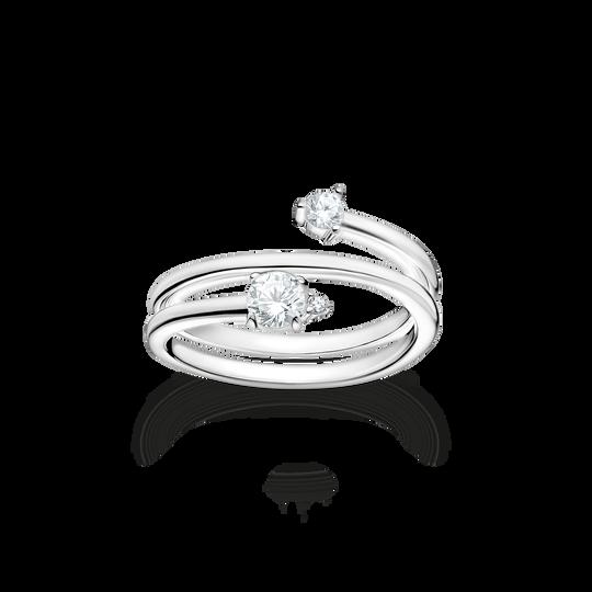 Bague flèche pierres blanches argent de la collection Charming Collection dans la boutique en ligne de THOMAS SABO