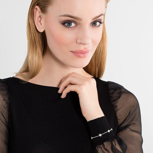 """bracelet """"Sparkling Circles"""" from the Glam & Soul collection in the THOMAS SABO online store"""