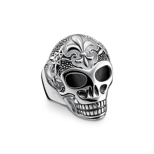 ring lily skull from the  collection in the THOMAS SABO online store