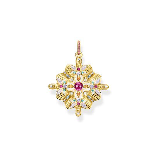 Colgante amuleto caleidoscopio mariposa oro de la colección  en la tienda online de THOMAS SABO