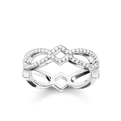 "eternity ring ""Love Knot"" from the Glam & Soul collection in the THOMAS SABO online store"