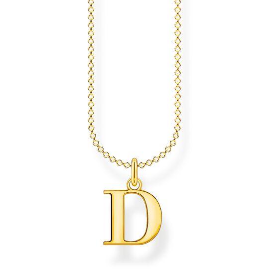 Chaîne lettre D or de la collection Charming Collection dans la boutique en ligne de THOMAS SABO