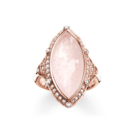 cocktail ring pink lotos from the  collection in the THOMAS SABO online store