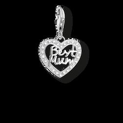 """pendentif Charm """"cœur BEST MUM"""" de la collection  dans la boutique en ligne de THOMAS SABO"""
