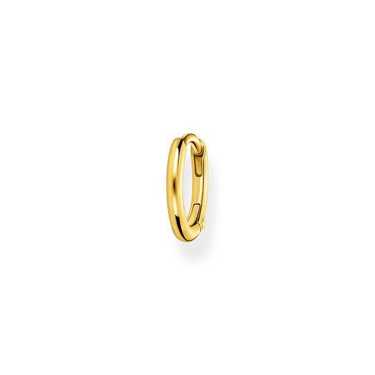 Einzel Creole klassisch gold aus der Charming Collection Kollektion im Online Shop von THOMAS SABO