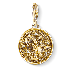 Charm pendant zodiac sign Capricorn from the Charm Club Collection collection in the THOMAS SABO online store