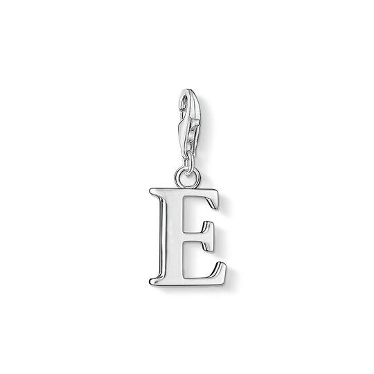 Charm-Anhänger Buchstabe E aus der Charm Club Kollektion im Online Shop von THOMAS SABO