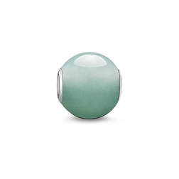 """Bead """"avventurina verde"""" from the Karma Beads collection in the THOMAS SABO online store"""