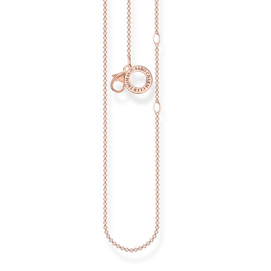 Charm necklace rose gold from the Charm Club collection in the THOMAS SABO online store