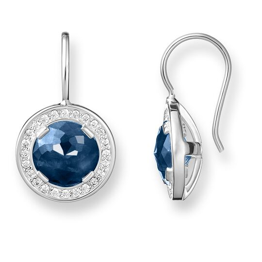 "Ohrringe ""Light of Luna Dunkelblau"" aus der Glam & Soul Kollektion im Online Shop von THOMAS SABO"