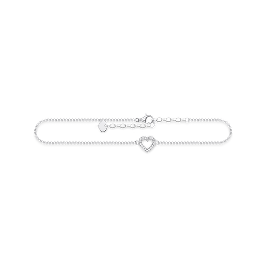 anklet heart from the Glam & Soul collection in the THOMAS SABO online store
