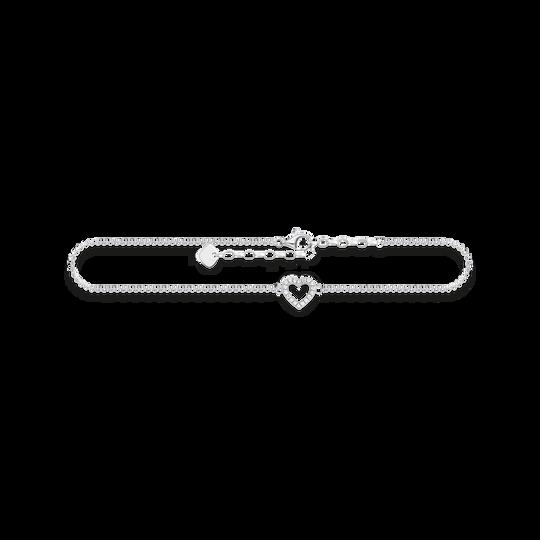 chaîne de cheville cœur de la collection Glam & Soul dans la boutique en ligne de THOMAS SABO