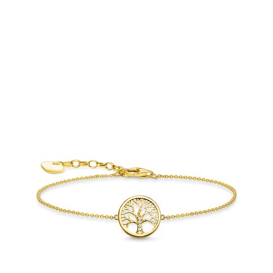 bracelet tree of love gold from the Glam & Soul collection in the THOMAS SABO online store