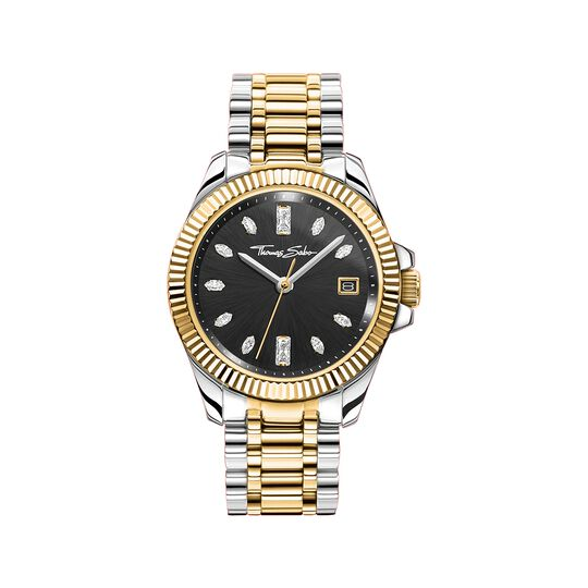 Women's watch two-tone gold silver from the  collection in the THOMAS SABO online store
