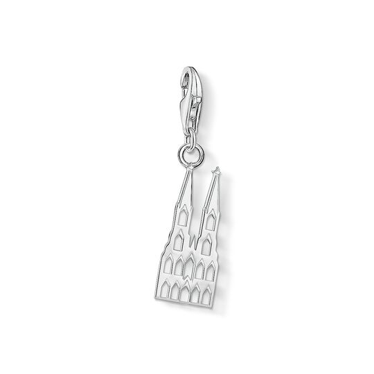 Charm pendant Cologne Cathedral from the Charm Club collection in the THOMAS SABO online store