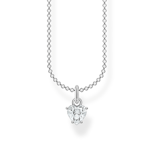 Necklace white stone silver from the Charming Collection collection in the THOMAS SABO online store