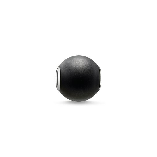 Bead obsidienne mate de la collection Karma Beads dans la boutique en ligne de THOMAS SABO