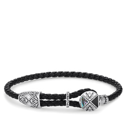 "Lederarmband ""Coin"" aus der Rebel at heart Kollektion im Online Shop von THOMAS SABO"