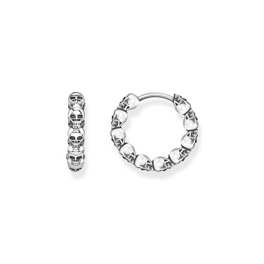hoop earrings skulls from the  collection in the THOMAS SABO online store