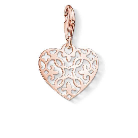 "ciondolo Charm ""ornamento a cuore"" from the Glam & Soul collection in the THOMAS SABO online store"