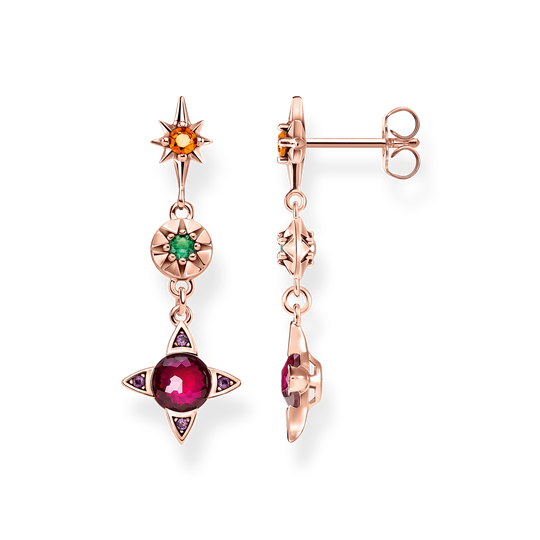 earrings Colourful lucky symbols from the Glam & Soul collection in the THOMAS SABO online store