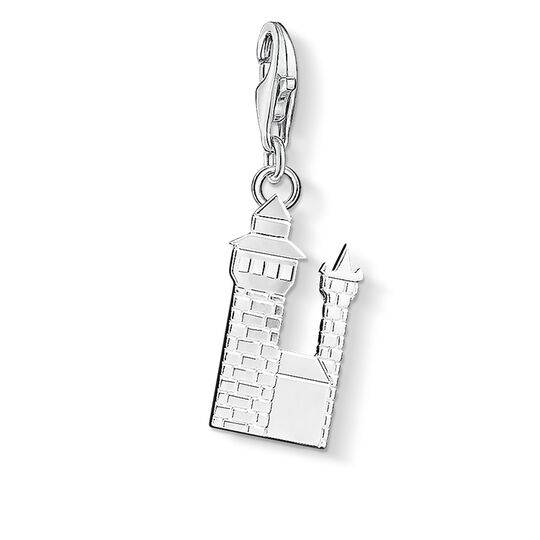 Charm pendant Nuremberg Castle from the  collection in the THOMAS SABO online store