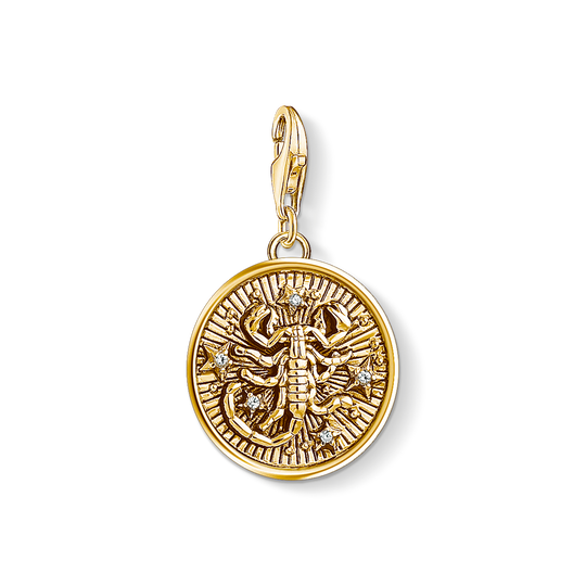Charm pendant zodiac sign Scorpio from the Charm Club collection in the THOMAS SABO online store