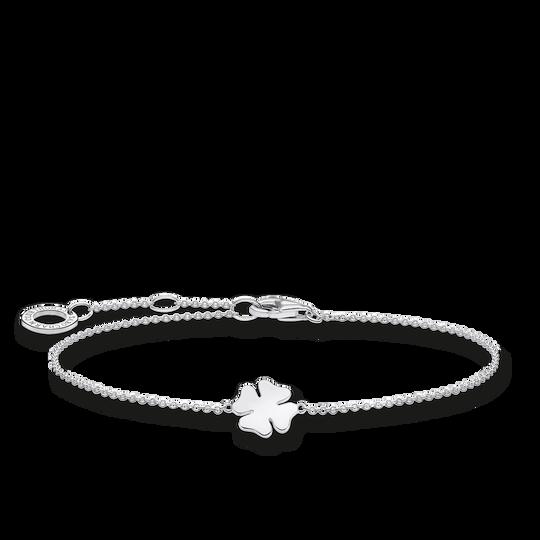 Armband klöverblad silver ur kollektionen Charming Collection i THOMAS SABO:s onlineshop