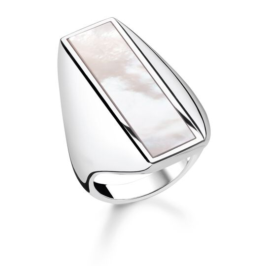 """ring """"mother-of-pearl"""" from the Glam & Soul collection in the THOMAS SABO online store"""