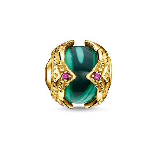 Bead green stone gold from the Glam & Soul collection in the THOMAS SABO online store
