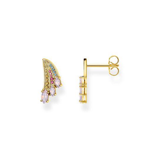 pendientes alas colibrí multicolor oro de la colección  en la tienda online de THOMAS SABO