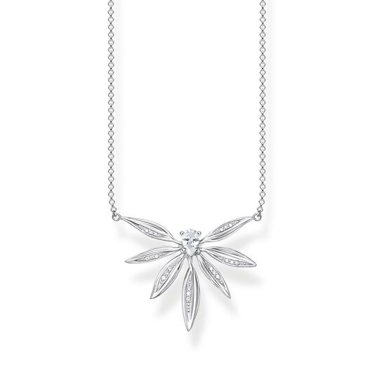 necklace leaves silver from the  collection in the THOMAS SABO online store