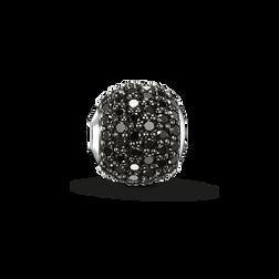 """Bead """"Schwarzer Diamant Pavé"""" aus der Karma Beads Kollektion im Online Shop von THOMAS SABO"""