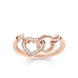 """Ring """"TOGETHER Herz"""" aus der Glam & Soul Kollektion im Online Shop von THOMAS SABO"""