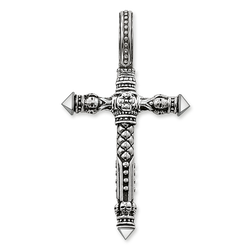 "pendant ""cross"" from the Rebel at heart collection in the THOMAS SABO online store"