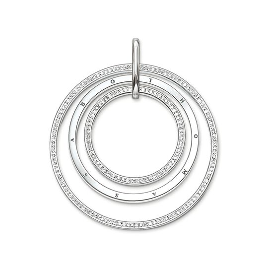 pendant circles pavé from the  collection in the THOMAS SABO online store