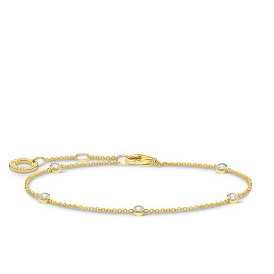 Bracelet white Stones gold from the Charming Collection collection in the THOMAS SABO online store