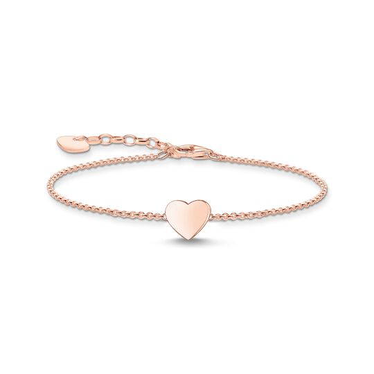 Bracelet heart rose gold from the  collection in the THOMAS SABO online store