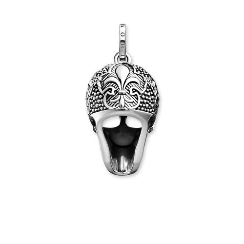 """pendant """"Lily Skull"""" from the Rebel at heart collection in the THOMAS SABO online store"""