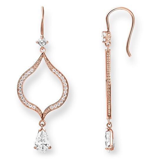 earrings Lotos from the Glam & Soul collection in the THOMAS SABO online store