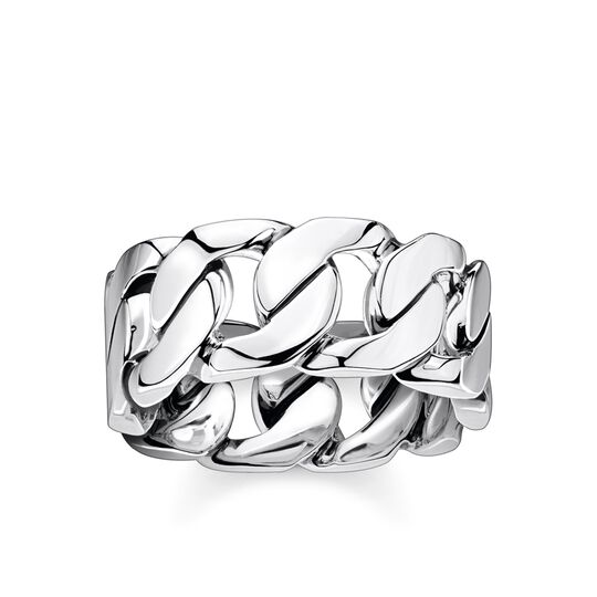 Ring links silver from the Rebel at heart collection in the THOMAS SABO online store