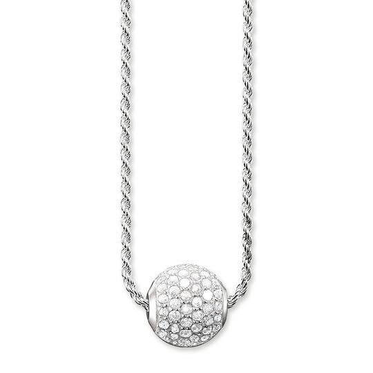 necklace white pavé from the Karma Beads collection in the THOMAS SABO online store