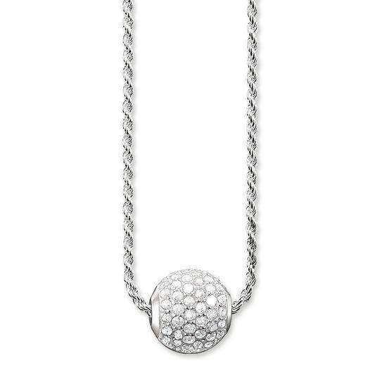 chaîne pavé blanc de la collection Karma Beads dans la boutique en ligne de THOMAS SABO