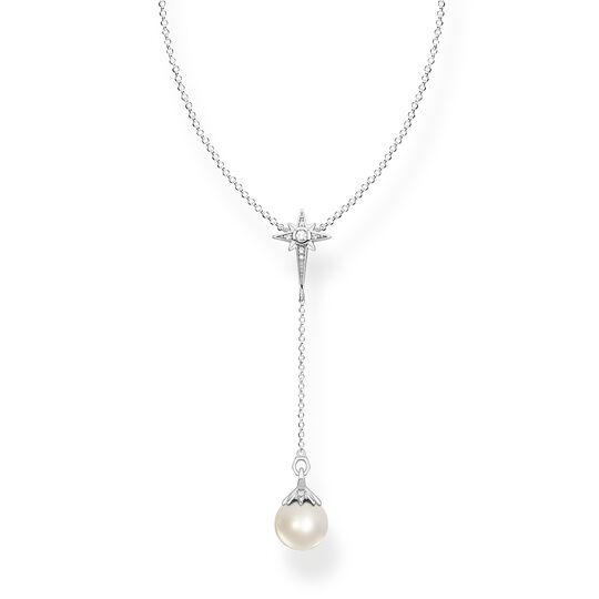 Necklace pearl star silver from the  collection in the THOMAS SABO online store