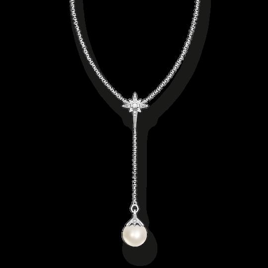 Chaîne perle étoile argent de la collection Glam & Soul dans la boutique en ligne de THOMAS SABO