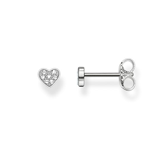 "ear studs ""heart pavé"" from the Glam & Soul collection in the THOMAS SABO online store"