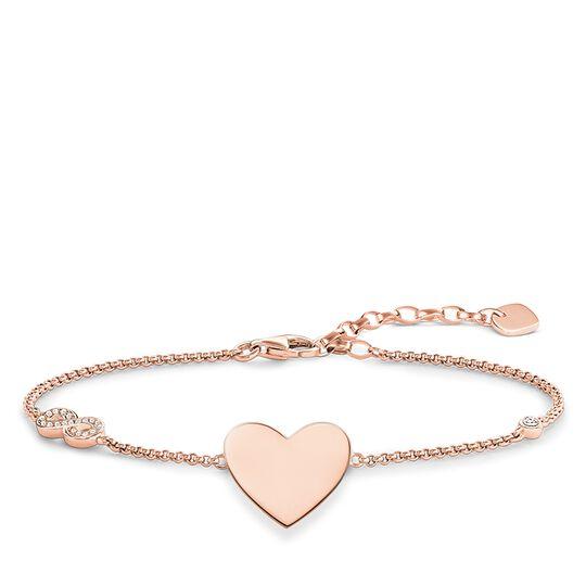 Armband Herz mit Infinity aus der Glam & Soul Kollektion im Online Shop von THOMAS SABO