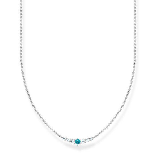 Necklace turquoise stone from the Charming Collection collection in the THOMAS SABO online store